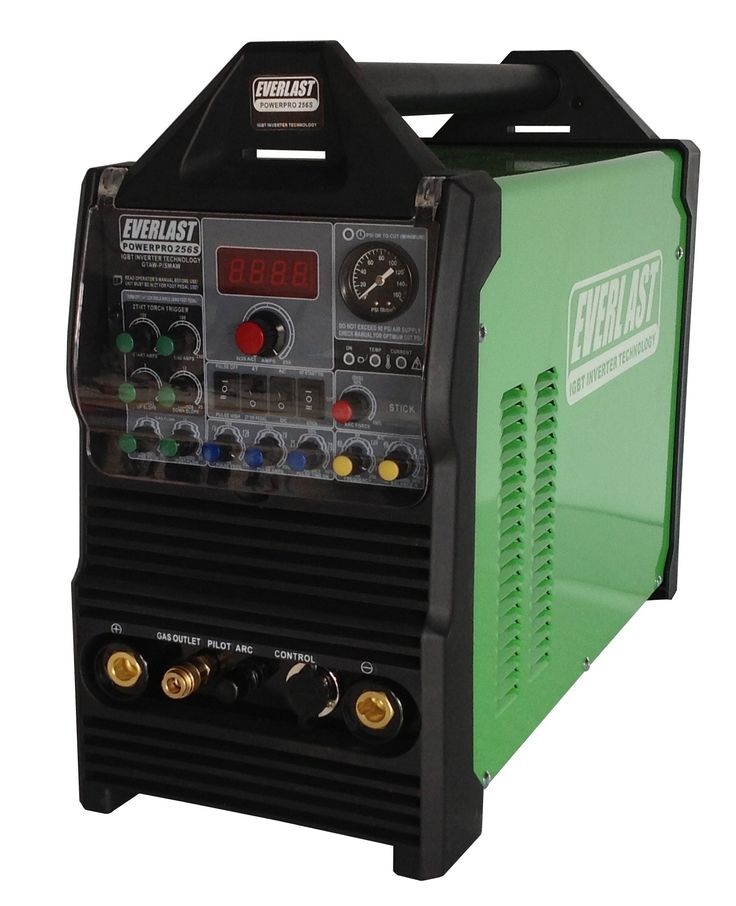 Everlast Welders provides multi process products like PowerPro 256S at affordable rat of just CA$1,925.00