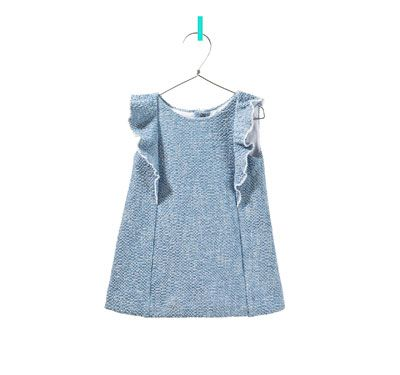 frilly dress - Collection - Baby girl - Kids | ZARA United States