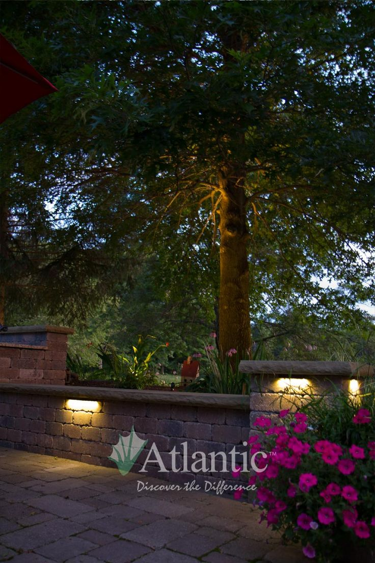 Looking for new lighting options for your outdoor space? Atlantic carries a variety of lighting options to illuminate any hardscape, landscape or water feature in both warm white and color changing!