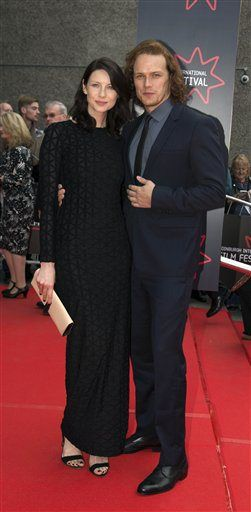 LQ/MQ Pics of Sam Heughan and Caitriona Balfe at the Edinburgh International Film Festival | Outlander Online