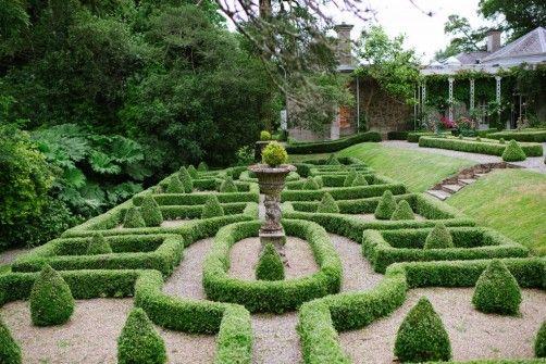 Gardens at Marlfield House Hotel in Wexford, Ireland #gardens #marlfieldhouse
