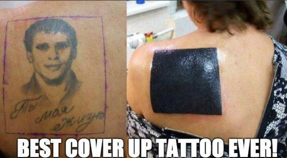 Best cover up tattoo ever!