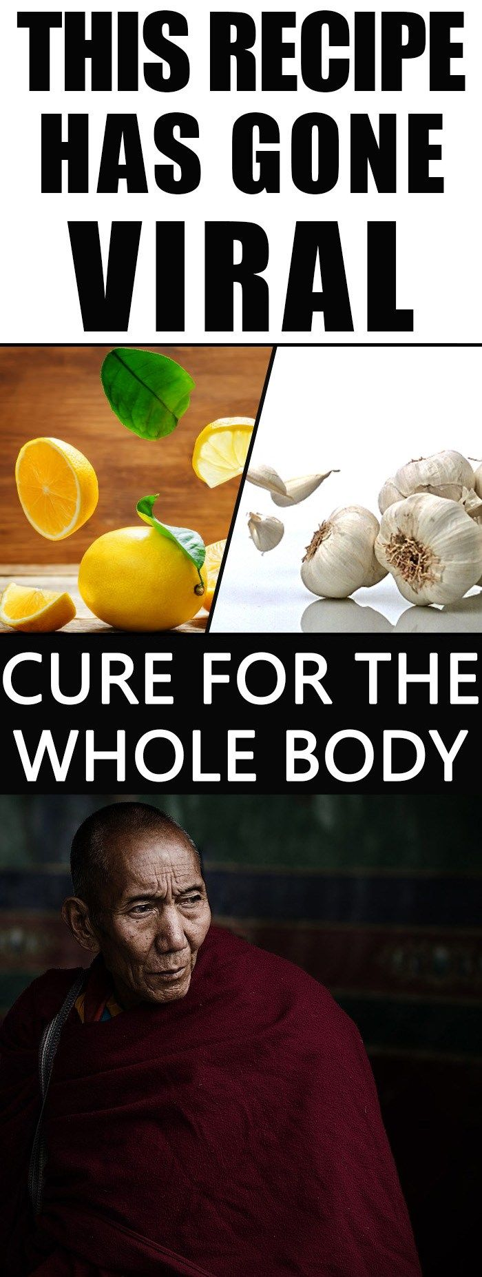 Cure For The Whole Body - Recipe Of The Old Monks Makes Miracles