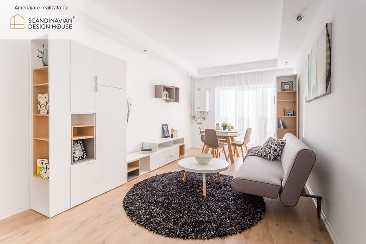 Functional Scandinavian surprises in a small but fresh looking space | Click for more pictures and details about this SDH project