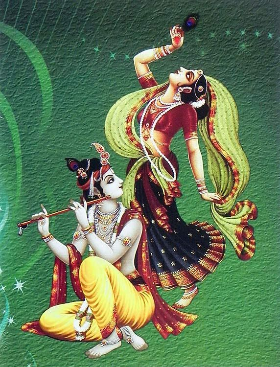 Radha Krishna -- Indian Art
