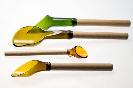 recycled bottle utensils