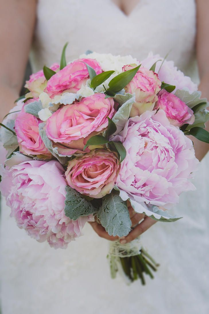 Flowers by shirley garden rose bouquets - Pink Peony And Rose Bouquet Photo Lana Trayser Photography Bouquet St