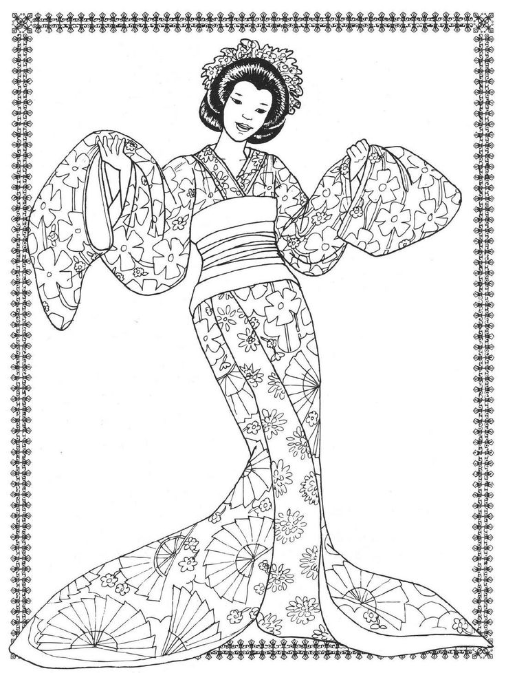 ballet coloring pages for adults - photo#7