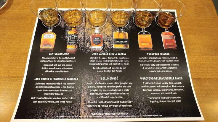 Reviews #82-87: Jack Daniels and Woodford Reserve ambassador event #bourbon #whiskey #whisky #scotch #Kentucky #JimBeam #malt #pappy