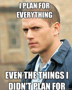 Michael Scofield and Benjamin Linus always have a plan