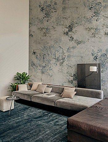 Meer dan 1000 idee n over bruine lederen stoelen op pinterest lederen stoelen stoelen en - Deco lounge huis schilderen ...