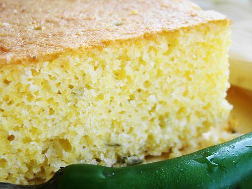 Cornbread ou pain de mais. Autre recette sur Marmiton mais Pinterest ne veut pas le prendre grr