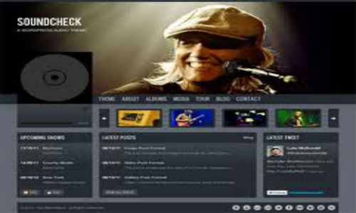 20 Spectacular WordPress Themes for Owning Music Websites