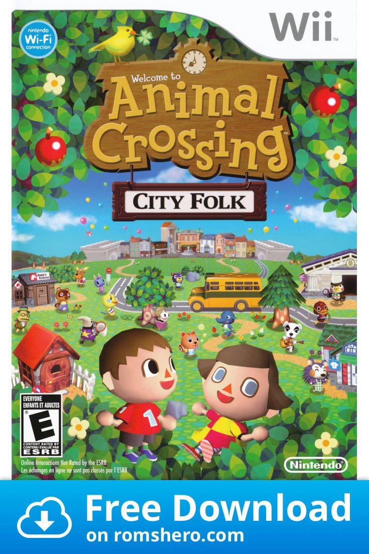 Download Animal Crossing City Folk Nintendo Wii Wii Isos Rom