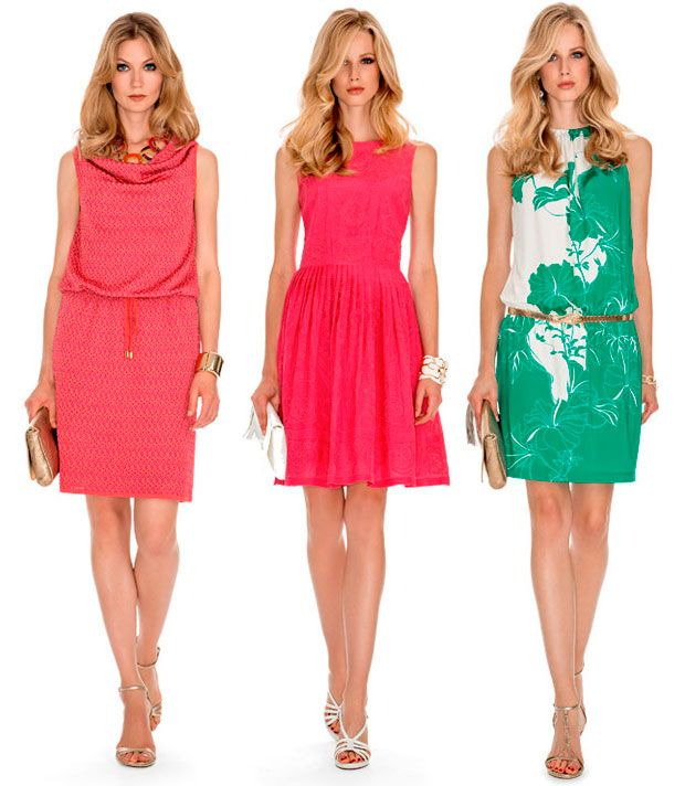 Luisa Spagnoli cerimonia 2015 - vestiti rosa