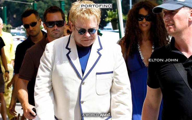 Ferragosto per Elton John a Portofino. | Portofino.it ®