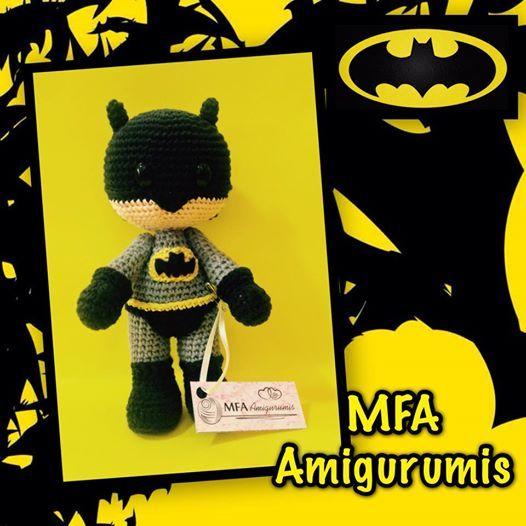 Batman www.facebook.com/MFAAmigurumis