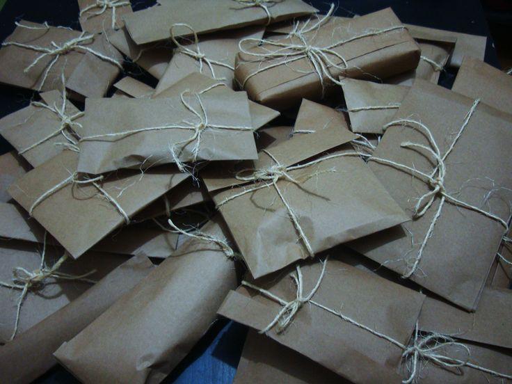 hediye paketleri :)