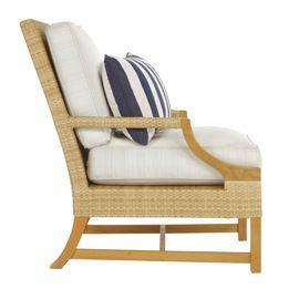 Riviera Lounge Chair For Michael Taylor Designs  Contemporary, Transitional, Resin  Composite, Wood, Armchair by Suzanne Tucker  Tucker  Marks