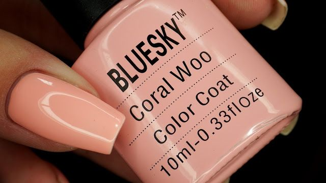 Nails Revolutions by Alicja Fik: Bluesky - Coral Woo
