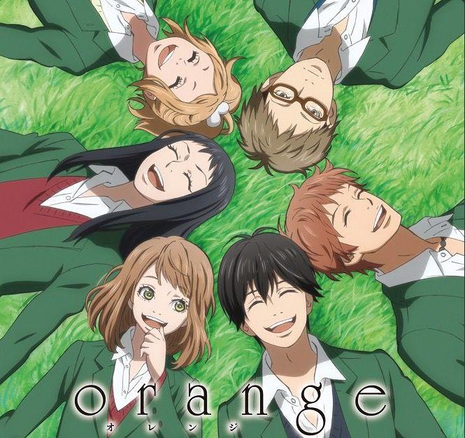Orange Anime Orange Anime Anime Romance