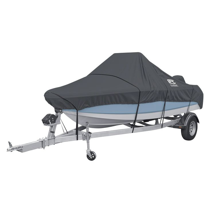 "Classic Accessories StormPro Heavy Duty Boat Cover For Center Console Boats, Fits 16-18.5' Long, up to 98"" Wide #centerconsoleboataccessories"