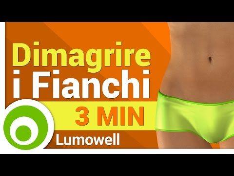 Dimagrire i Fianchi - 3 Minuti - YouTube