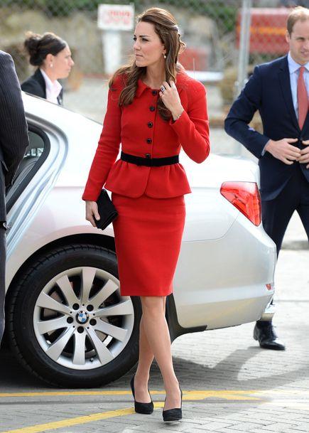 Kate Middleton à Christchurch en Nouvelle-Zélande le 14 avril 2014