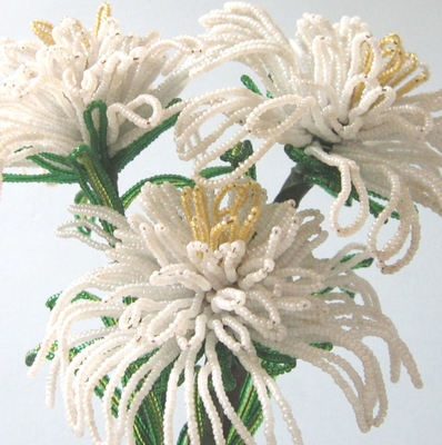 135 best beaded creations images on pinterest beaded crafts seed french beaded flowers mightylinksfo