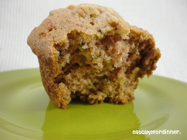 Eat Cake For Dinner: Best EVER Zucchini Muffins