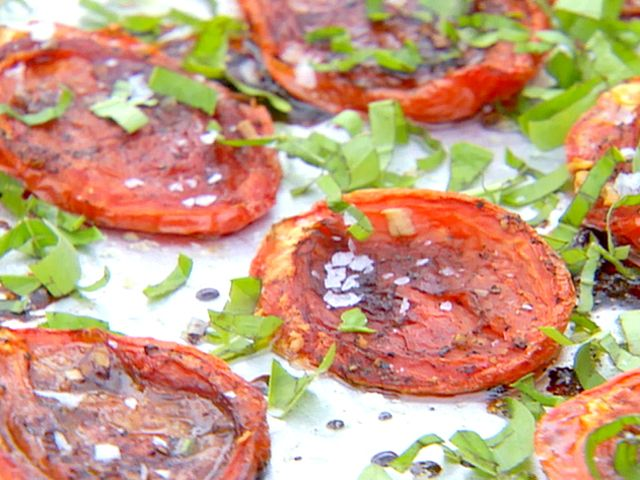 Get this all-star, easy-to-follow Roasted Tomatoes recipe from Ina Garten