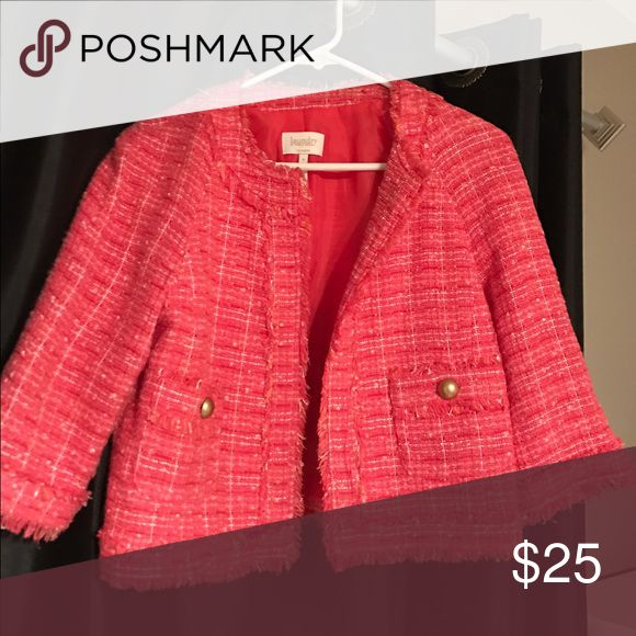 Laundry jacket size 8 (fits like a 6) Laundry jacket size 8 fits like a 6. Laundry by Design Jackets & Coats Blazers