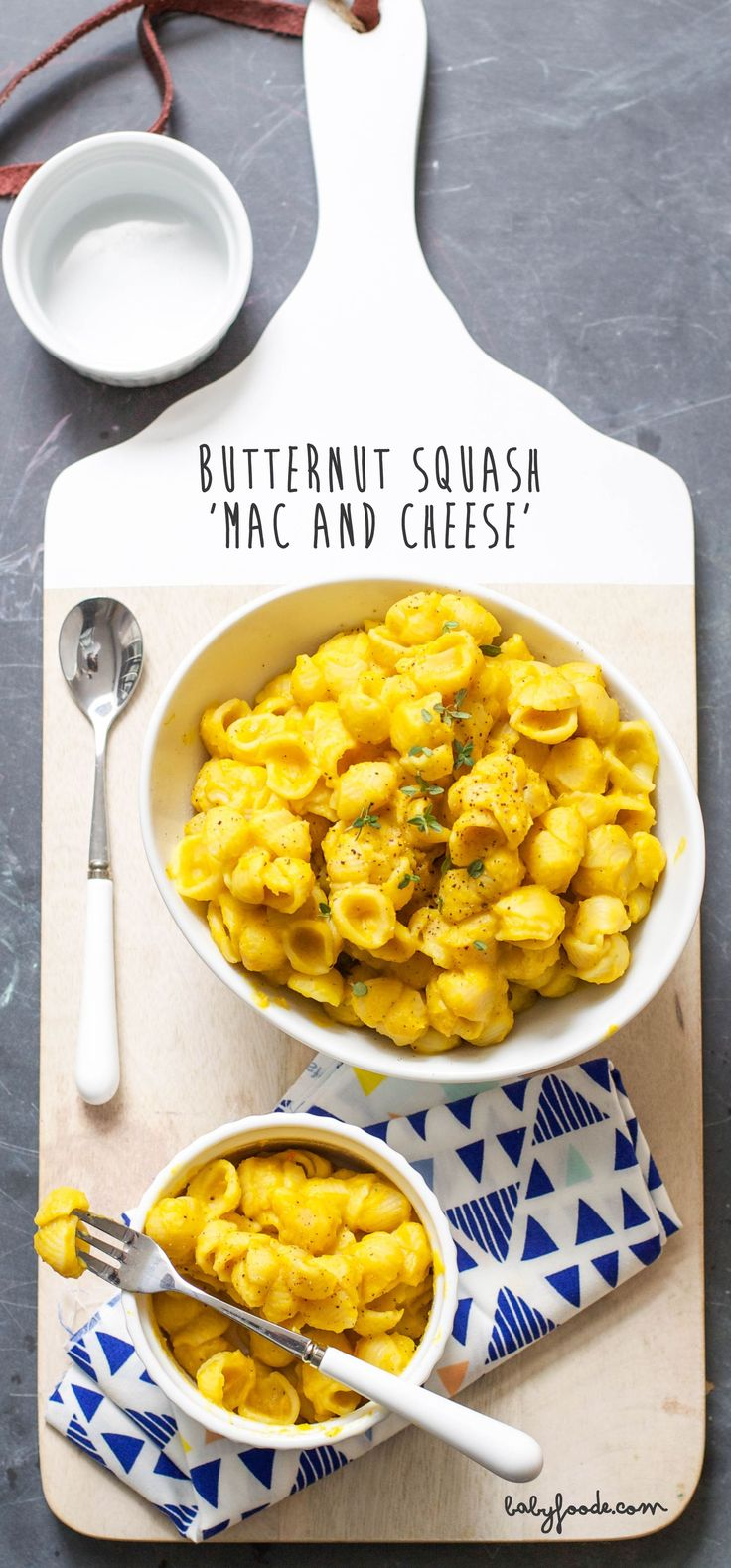 Butternut Squash 'Mac and Cheese' for Toddler — Baby FoodE | organic baby food recipes to inspire adventurous eating