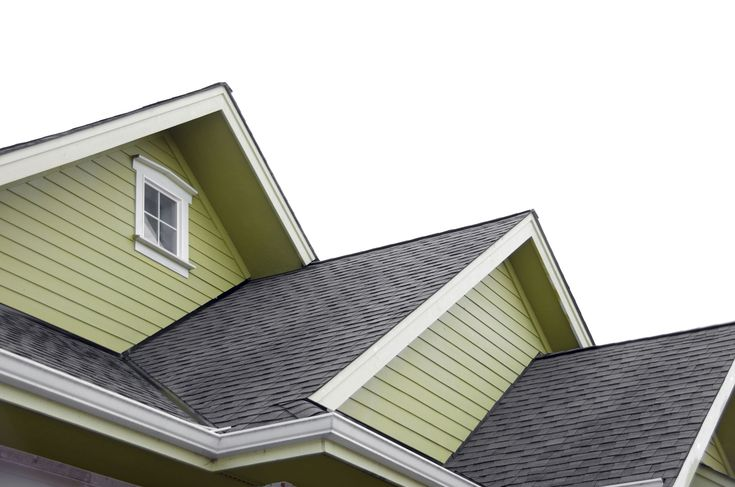 Olive green looks good with grey shingles.