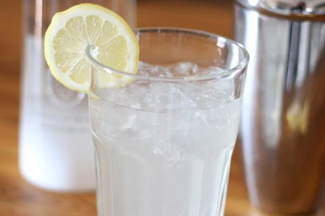 Barefeet In The Kitchen: Coconut Lemon Sour - Tastes even better than it sounds!! Excellent by itself, or with  something good and spicy!