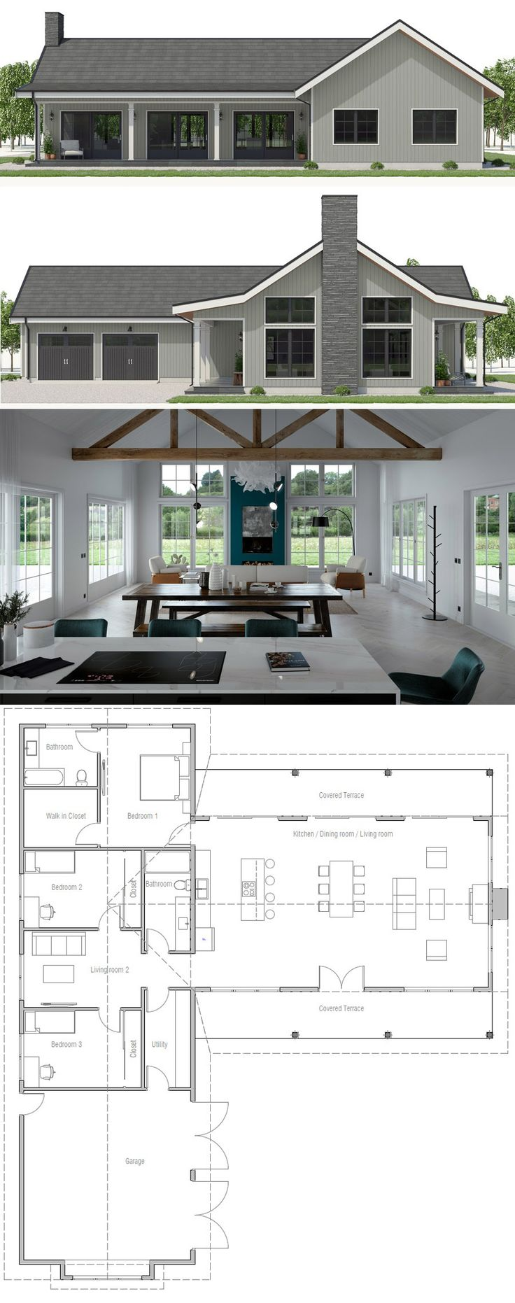 House Plans CH567