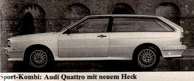 Artz Urquattro station wagon
