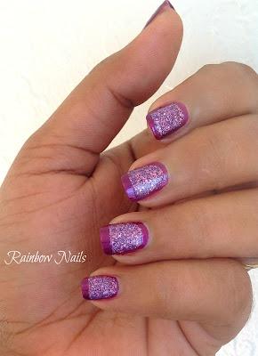 Border Nails from Rainbow Nails