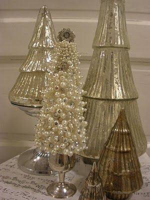 make a lovely pearl tree