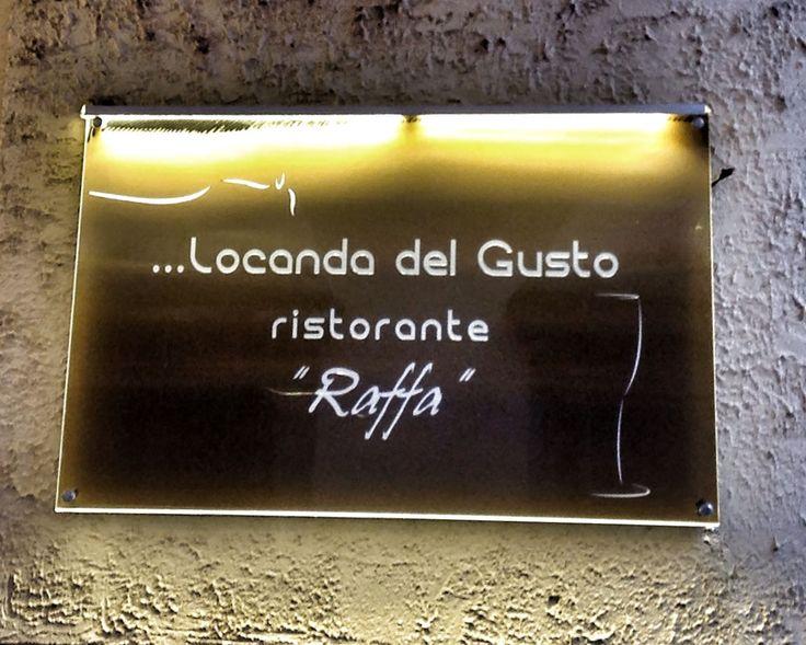 """""""Un tuffo nella caccia"""" menù da Ristorante Enoteca Locanda del Gusto a Pietrasanta"""