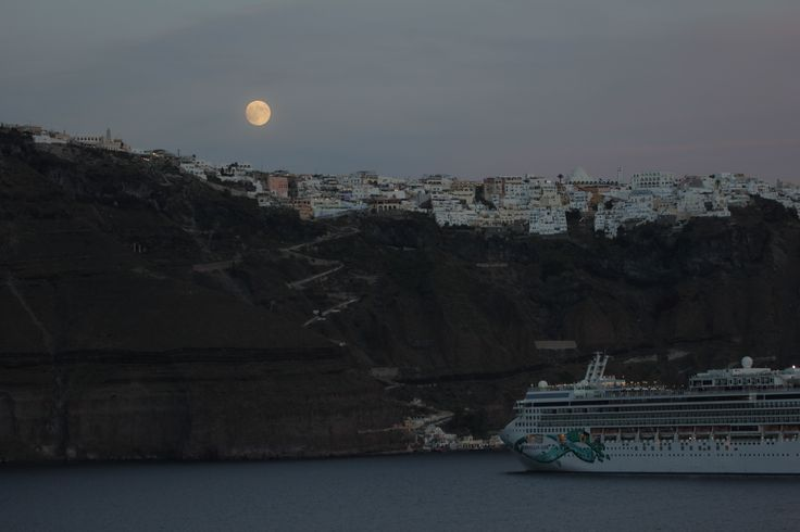 Leaving Santorini