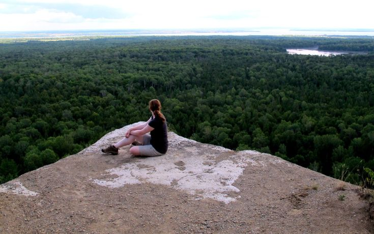 View from Vista on Cup and Saucer Trail. Manitoulin Island, Ontario, Canada. See link for story and pics. #hiking #manitoulin #cupandsaucer #vista
