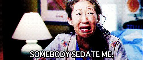 Then there was that time Cristina had an ectopic pregnancy.