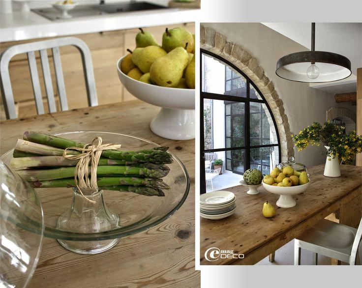 1000 images about e e t k a m e r s on pinterest informal dining rooms fr - Cuisine moderne dans l ancien ...