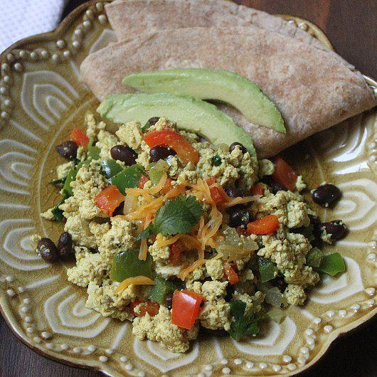Southwestern Tofu Scramble: This tofu scramble tastes so good, it may ...