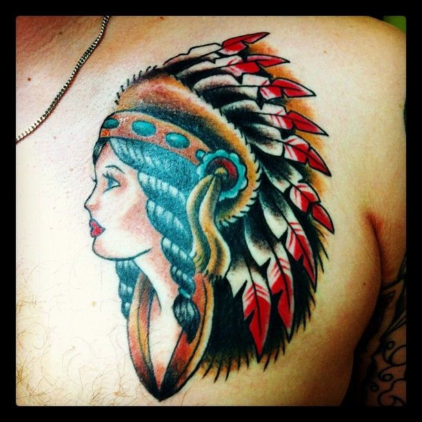Top 10 Native American Tattoos: Traditional Native American Tattoos