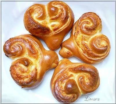 Limara péksége: Sajtos kelt szívek Valentin napra