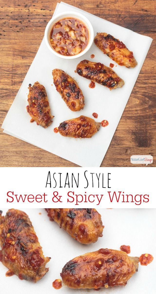 Hot sweet spicy chicken asian style