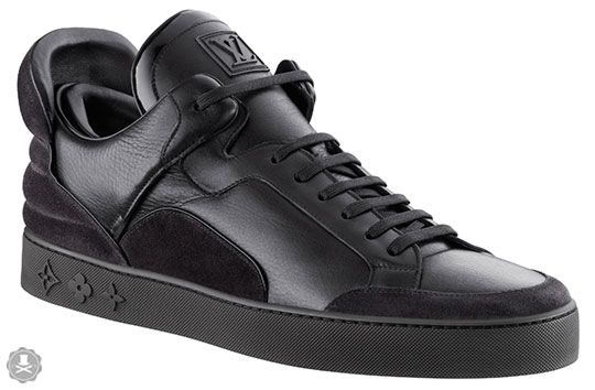 """The """"Louis Vuitton Don"""" bangs it out again with his favorite of fashion houses. The Kanye West for Louis Vuitton sneakers have been anticipated for some time and, of course, made their premiere during Vuitton's Men's Show last week…"""