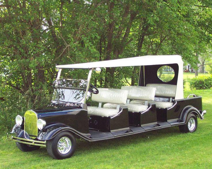 Golf cart light hook up